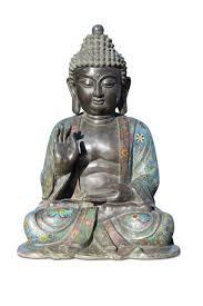 Buddha cloisonne Tibet