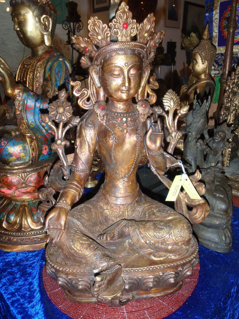 Grüne Tara Tibet