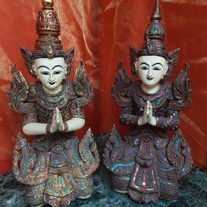 Tempelwächter Paar